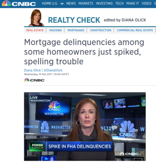 Mortgage delinquencies among some homeowners just spiked  spelling trouble